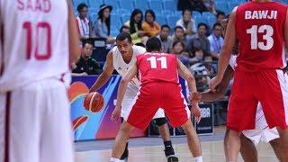 Mizo Amin - FIBA - Asian Championship Qatar vs Lebanon 5th place Game Offensive Highlights (2015)