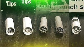 How to make a filter tip | #GermanWeedBoys
