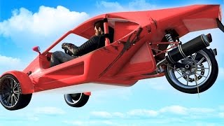 GTA San Andreas & GTA V Cars & RAPTOR & 3 Tekerlekli Araba
