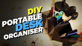 How to make a Portable Desk Organizer