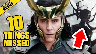 THOR: RAGNAROK Trailer - Things Missed, Easter Eggs & Infinity Stones