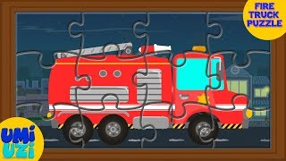 Umi Uzi fire truck  Puzzle Game Videos For Kids