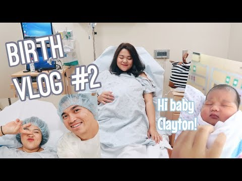 Xxx Mp4 BIRTH VLOG KELAHIRAN ANAK KEDUA👶🏻🍼 Welcome Baby Clay 💙 C Section 3gp Sex