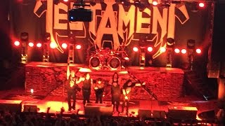 Testament-Full Concert at House of Blues Anaheim May 2017