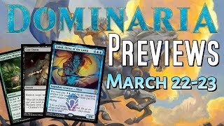 Mtg: New Dominaria Spoilers! Legendary Genie, Cast Down, And Sweet Art!