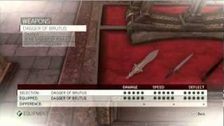 Assassin's Creed Brotherhood Best Equipment