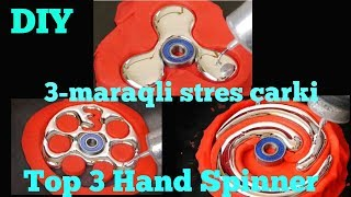3-maraqlı və satışda olmayan stres çarxları.DIY Gallium Fidget Spinner (Azerbaijan)