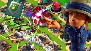 Riflemen with Iron Will Attack Strategy! Boom Beach Gameplay!