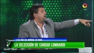 Pasión por el futbol - 23 Abril 2018 - Con Caruso Lombardi sobre Boca, Selección y reparte a varios