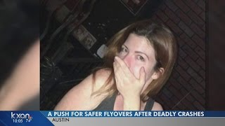 Friends of motorcyclist who fell to her death push for safer flyovers