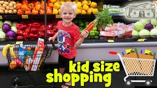 Kid Size Shopping with Real Money!