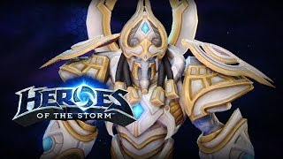♥ Heroes of the Storm (Gameplay) - Artanis, THE ONE WHO CUTS! (HoTs Quick Match)