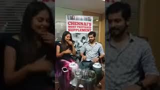 Biggboss Harish Kalyan and Bindu Madhavi First time Live Together
