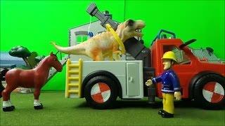 Feuerwehrmann Fireman Sam SIMBA PHOENIX - Dinosaurs need Henry the Horses help