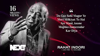 13. Rahat Indori - Hamari Association Mushaira - Dubai 2012