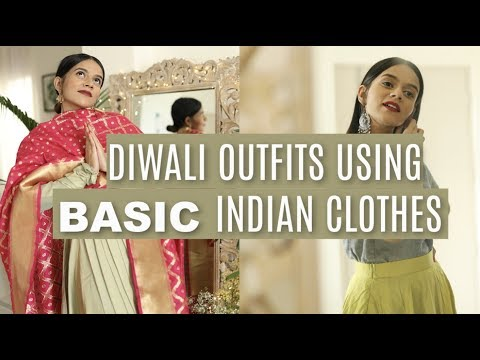 Xxx Mp4 Diwali Outfits From BASIC Indian Clothes Komal Pandey 3gp Sex
