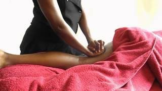 Soothing Leg Massage   Relaxing Massage ASMR