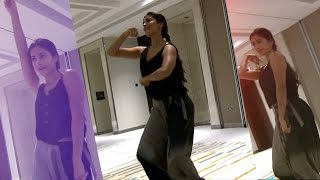 Pooja Hegde Dance Rehearsal Practice at SIIMA 2015