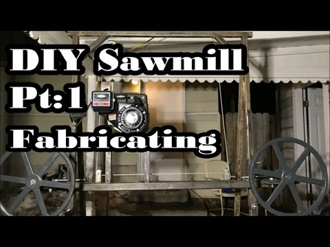 Xxx Mp4 DIY Sawmill Pt 1 Homemade Cheap Simple 36 Log 3gp Sex