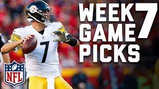 Week 7 Game Picks in Under 3 Minutes ⏱🏈  | NFL