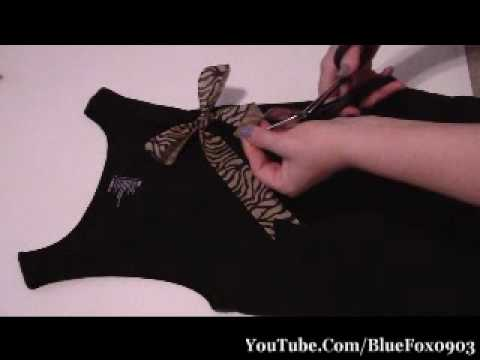 DIY Project Update Your Tank Tops
