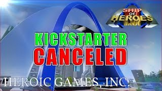 Ship of Heroes: Kickstarter Canceled ... The Future of Super Hero Games