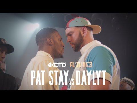 KOTD Rap Battle Pat Stay vs Daylyt Title Match Flatline3
