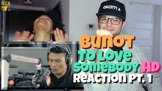 Roland 'Bunot' Abante - To Love Somebody (Michael Bolton) Reaction Pt.1