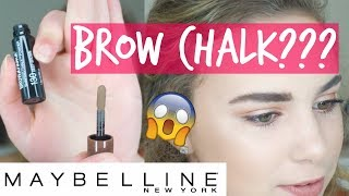 BROW CHALK??? | First Impressions Review & Demo