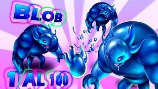 BLOB DEL 1 AL 100 + COMBATE- ¿ES BUEN ATACANTE ?