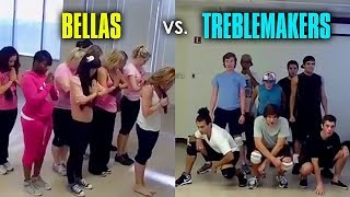 Bellas & Treblemakers Rehearsal Footage from Pitch Perfect [Full]
