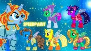 Winx Club My Little Pony - Magic Winx Speedpaint
