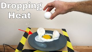Is It Possible to Cook an Egg Just by Dropping It?