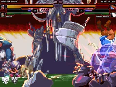 MUGEN Battle 16: Hawkeye & Duran vs Balrog & Orochi Vega