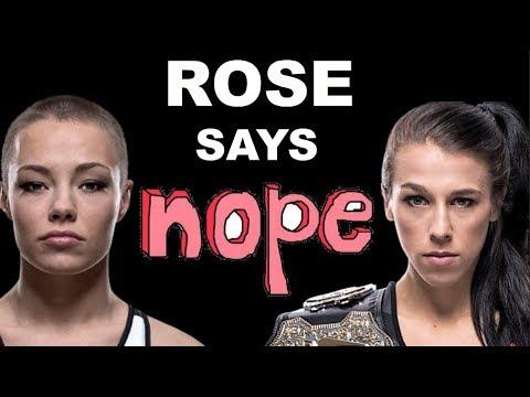 Xxx Mp4 Rose Rose Namajunas Says NOPE To Rematch With Joanna Jedrzejczyk 3gp Sex