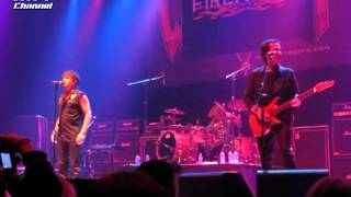 FIREHOUSE - All She Wrote. ROCKAHOLIC Tour 2012