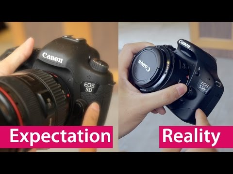 Expectation vs Reality Buying Your First DSLR