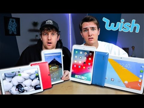 I Bought All The Tablets on Wish
