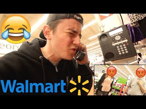 Sex Noises On The Walmart INTERCOM (KICKED OUT)