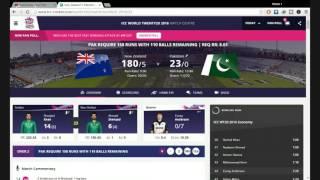 PAK VS NZ Live Streaming icc world t20 2016 on MGBQ-Live