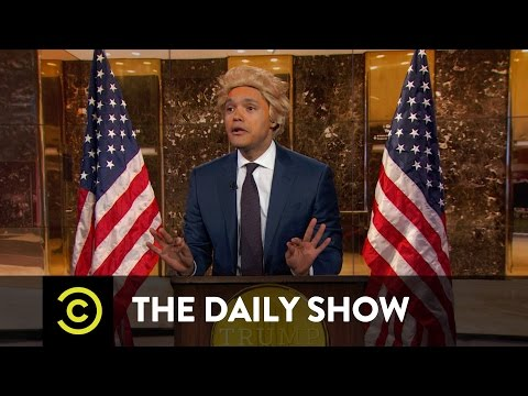 President Elect Trump Takes On the Crooked Media The Daily Show