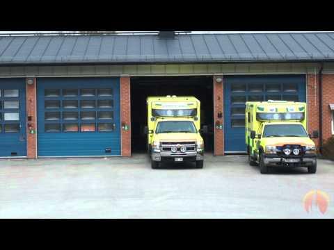 Ambulans 23 94 Ö3 Prio1 i Östhammar