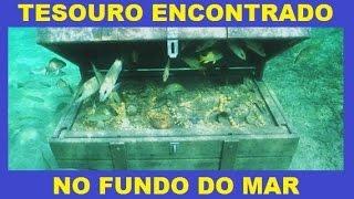 HOMEM ENCONTRA TESOURO NO FUNDO DO MAR COM DETECTOR DE METAIS