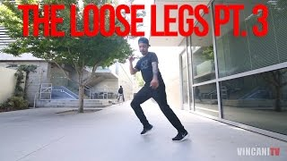 Learn How To House Dance | Loose Legs Pt. 3 | Jardy Santiago