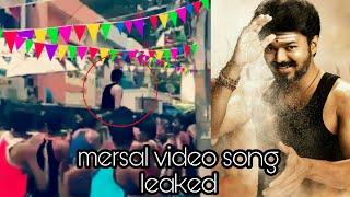 mersal | video song | leaked | vijay | atlee