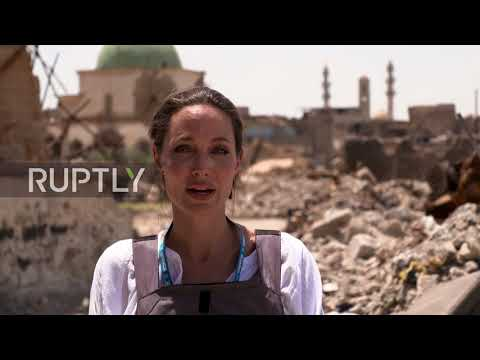 Xxx Mp4 Iraq The Worst Devastation I Ve Seen Angelina Jolie Visits Mosul On Eid 3gp Sex