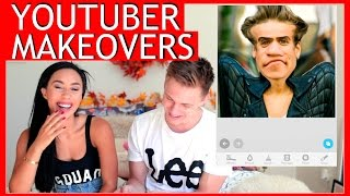 YOUTUBER MAKEOVER CHALLENGE w/ MyLifeAsEva