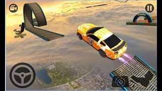 Impossible Stunt Car Tracks 3D / New Vehicle 2017 / Ultimate Car Driving / Android Gameplay Video #2