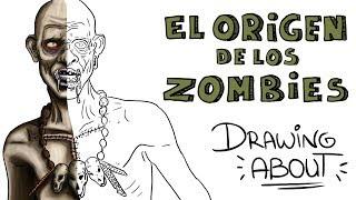 LA Hª VUDÚ DEL ORIGEN DE LOS ZOMBIES   Drawing About