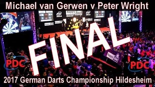 2017 German Darts Championship Hildesheim Michael van Gerwen v Peter Wright | Final